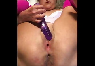 Hot Milf Close Up Dildo Play Asshole Nice And Spread Granny Milf Mature