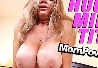 MomPov big tits old slutty cougar gilf cumslut getting fucked POV