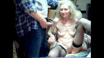 Granny 87 years old Suck boy - 1 min 41 sec