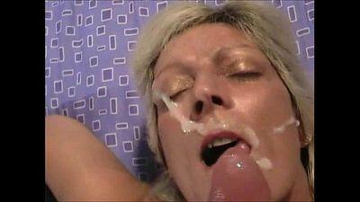 Creamy Facial for a Naughty Blonde Cougar POV - 1 min 20 sec