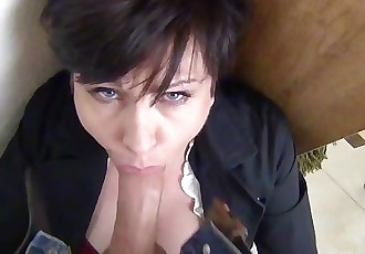 Facefucking the Anger Management Counselor