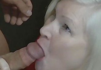 English GILF gets fucked