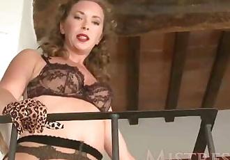 Mistress T Pantyhose Sniffer POV