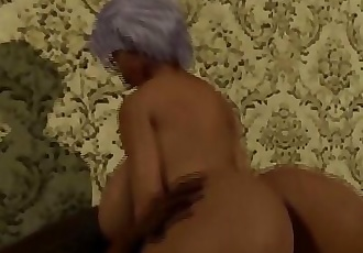 Thick Booty Ebony Granny rides her Neightbors Cock/ Latin wife Blackmailed by BBC 12 min 1080p