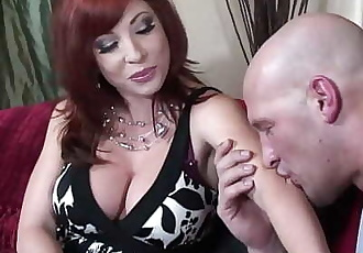 Redhead Mom Brittany OConnell Pierced Pussy In Sexy Stockings Fucked 30 min 720p