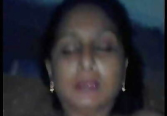 Indian Desi aunty sucking and fucking young guyWowmoyback 2 min