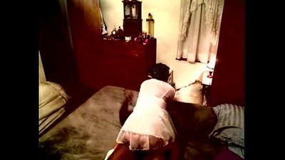 fucked the housekeeper hard- interracial - 5 min