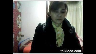 두꺼운 중국 할머니 놀리 - 9 min