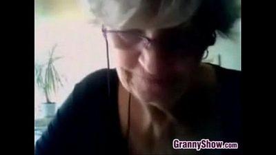 Grandma Shows Off Her BreastsBusty Grandma Sh - 7 min