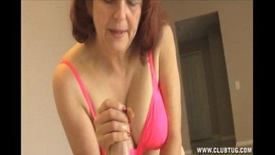 Mature Woman Jerking A Dick - 5 min