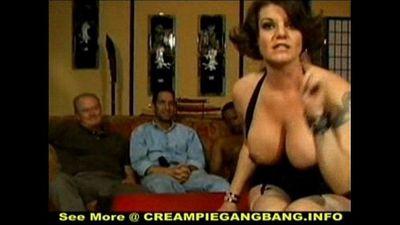 White Trash Creampie Gangbang - 5 min