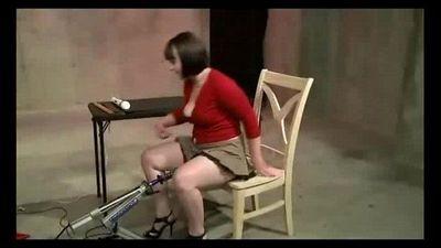 Femdom Lesbian Machine Fuck - 6 min