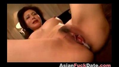 Japanese Mature Woman Going Wild - 9 min