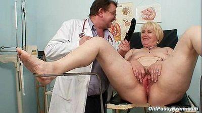 Chubby blond mom hairy pussy doctor exam - 5 min