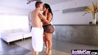 Anal Deep Hardcore Sex With Big Round Oiled Butt Slut Girl (kiara mia) vid-20