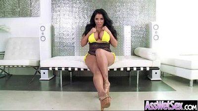 Big Wet Butt Girl (kiara mia) Love Hard Anal Bang On Cam clip-16