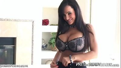 MILF Lisa Ann masturbate and hardcore fuck with big cock666slut.xyz
