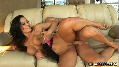 Famous milf Lisa Anna fucked from behind