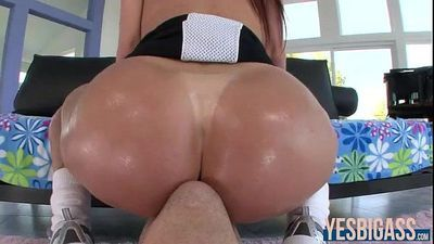 Ass to worship vixen Kendra Lust ass stuffed with beefy cock