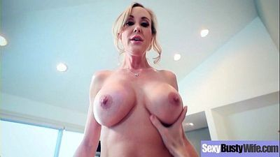 Sexy Big Tits Mommy (Brandi Love) Enjoy Hardcore Sex Action On Tape mov-09
