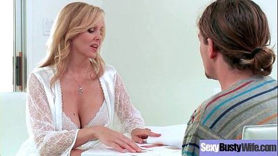 Hot Busty Mommy (Julia Ann) Love Hard Sex In Front Of Camera vid-30
