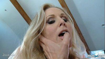 Horny Julia Ann fuck cockHD