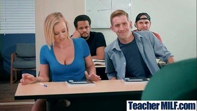 Big Juggs Teacher (Alexis Fawx & Bailey Brooke) Like Hard Style Sex In Class movie-01