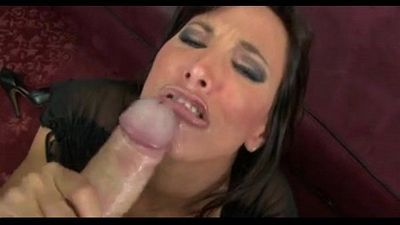 Lezley Zen Giving a Hot Blowjob