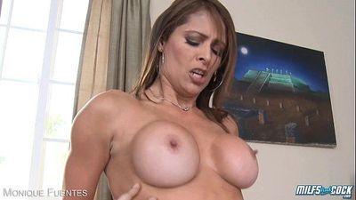 Busty milf Monique Fuentes fuckingHD