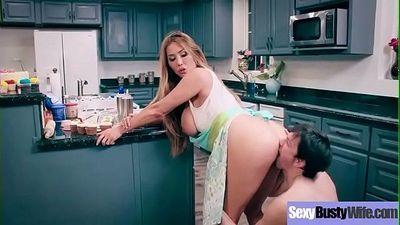 (Kianna Dior) Busty Mommy Enjoy Hard Style Sex On Tape Clip-12