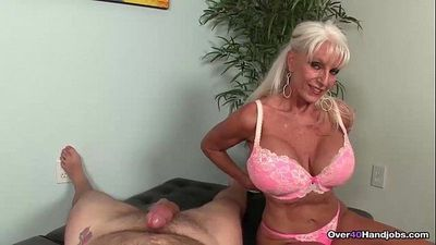 over-Granny loves jerking cocksHD