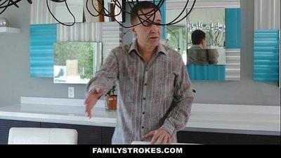 FamilyStrokes- Kinky Aunt Fucks Step-NephewHD