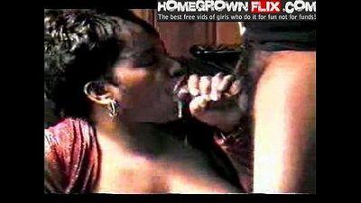 Mature Milf Love Cum - HomeGrownFlix.com - Ebony Amateur Homemade Sextape - 51 sec