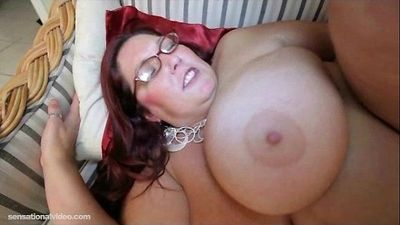 BBW Peaches LaRue is a Big Black Cock Lover - 2 min