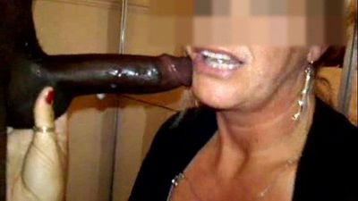 Deepthroat blowjob from expert mature cock hungry MILF - 1 min 22 sec
