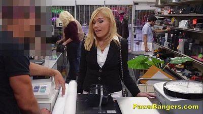 Classy Lady Turns Slutty For Cash - 7 min