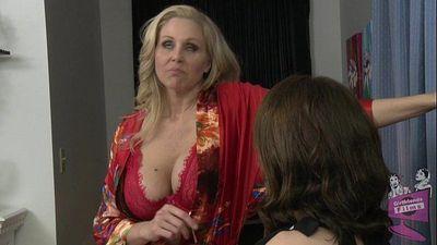 Julia Ann and Sarah Shevon Lesbian Sex - 6 min HD