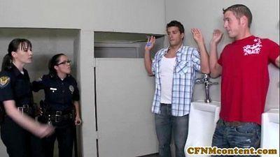 Dana Dearmond hot cop gets facialized - 8 min