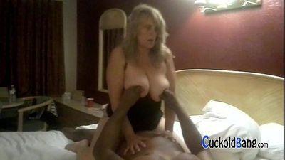 Chubby blonde hotwife with new bull CuckoldBang.com - 4 min