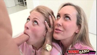 Zoey Monroe shared BF with Brandi Love after making out - 6 min