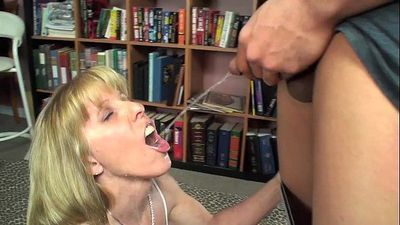 Young Guy Pisses and CUMs in My Mouth - 7 min HD