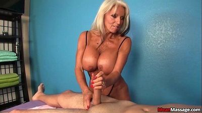 Experienced Lady Dominant Handjob - 6 min HD