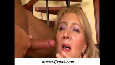 Chubby mature anal fuck - 6 min