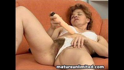 Moms nice hot hairy pussy - 8 min