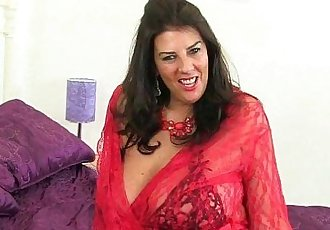 British milfs Lulu Lush and Toni Lace wearing fishnetsHD