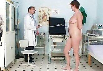 Milf hairy pussy gyno examination in hospital - 5 min