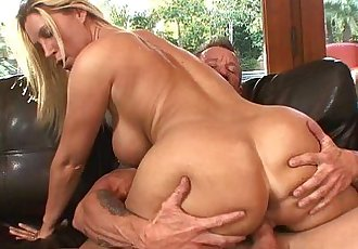 Busty Blonde Housewife Devon Lee Pierced Pussy FuckedHD