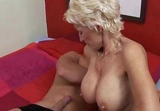 wild hot body german mom fucking young man