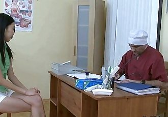 Hot Cum Soaks The Asian Slut - 5 min HD