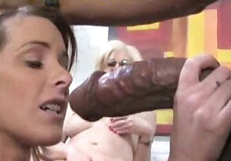 Serviced By Mom and Girl - 5 min